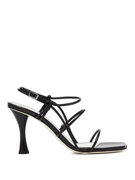 Proenza Schouler - Leather Sandals - Womens - Black