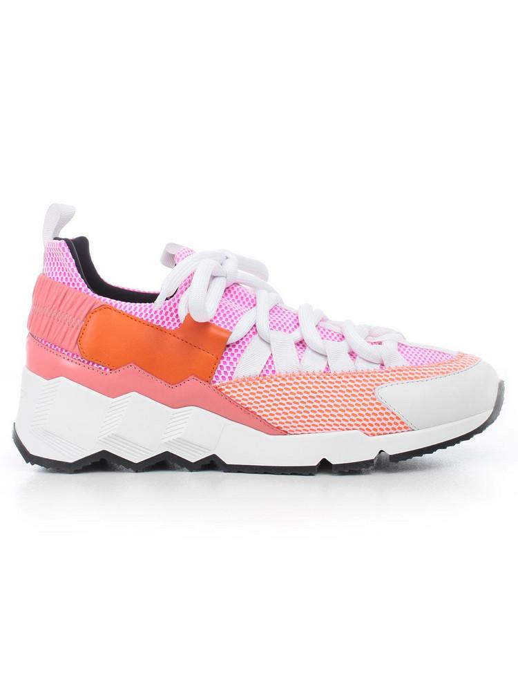 Pierre Hardy Trek Comet Sneakers in pink / multi