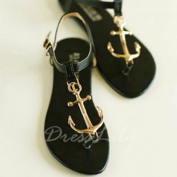 shoes sandals black aztec tribal pattern beige strappy black sailor sandals