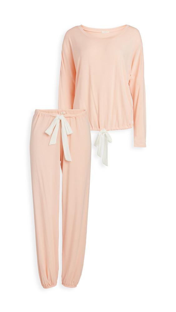 Eberjey Gisele Slouchy Pajama Set in ivory