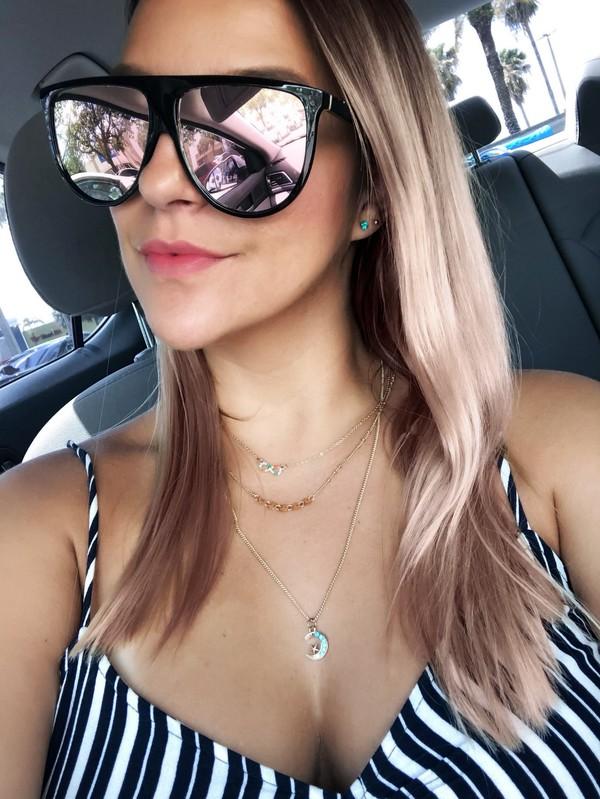 sunglasses mirrored sunglasses round sunglasses summer dress summer top black sunglasses rose gold
