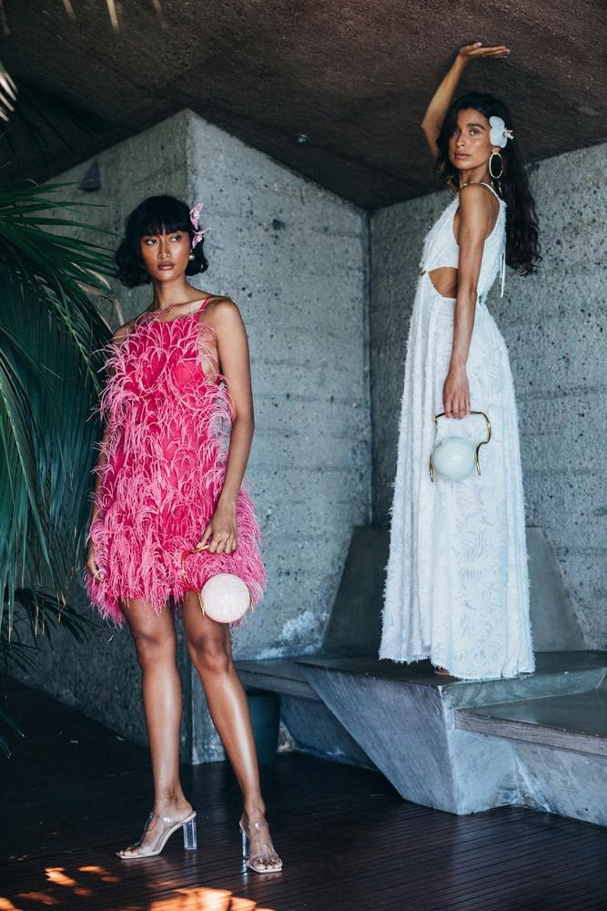 Cult Gaia Shannon Dress - Hibiscus (PREORDER)                                                                                               $1,198.00