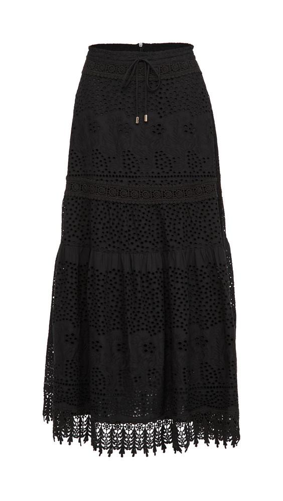 Melissa Odabash Alessia Skirt in black