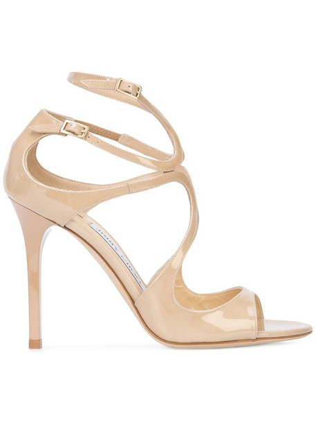 Jimmy Choo Lang sandals in neutrals