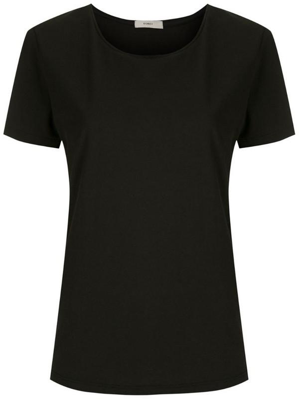Egrey short sleeves T-shirt in black