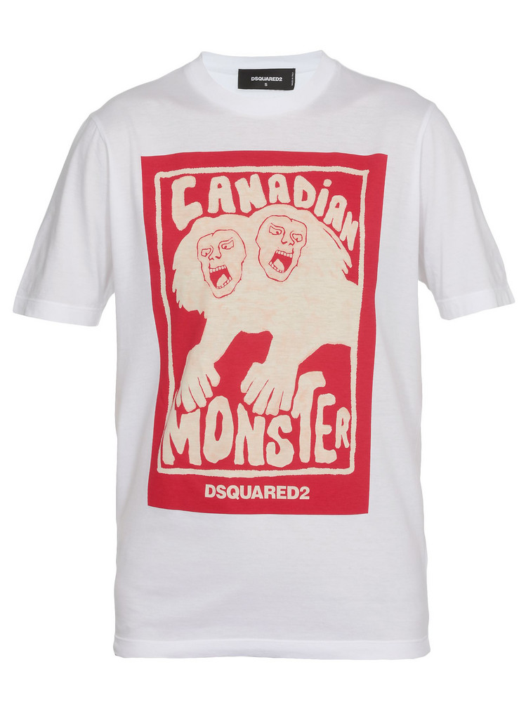 Dsquared2 Cotton T-shirt in white
