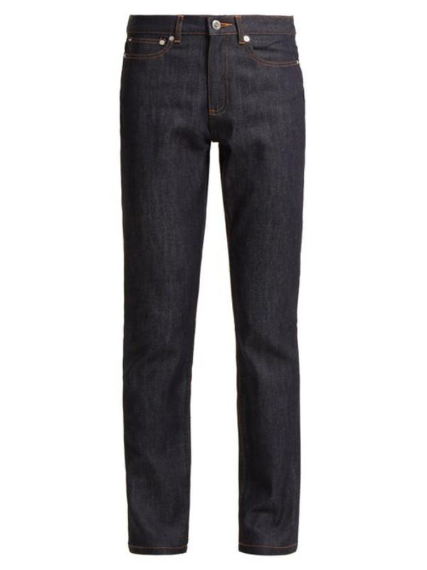 A.P.C. A.p.c. - Droit High Rise Straight Leg Jeans - Womens - Indigo