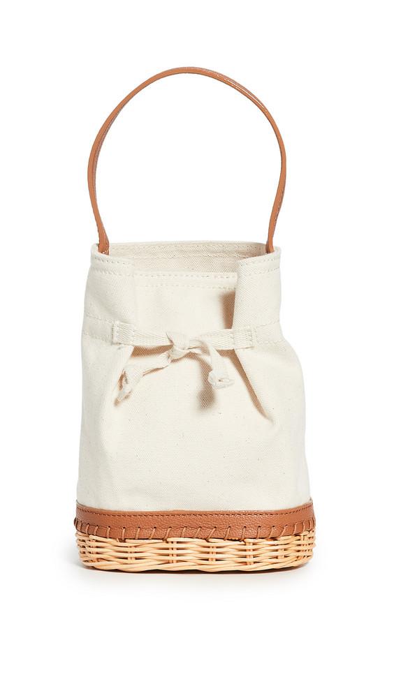 PAMELA MUNSON The Gardner Basket Bag in natural