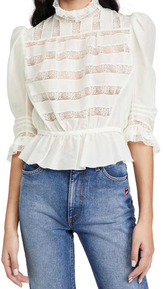 The Marc Jacobs The Victorian Blouse in ivory