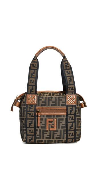 What Goes Around Comes Around Fendi Brown Zucca Bag