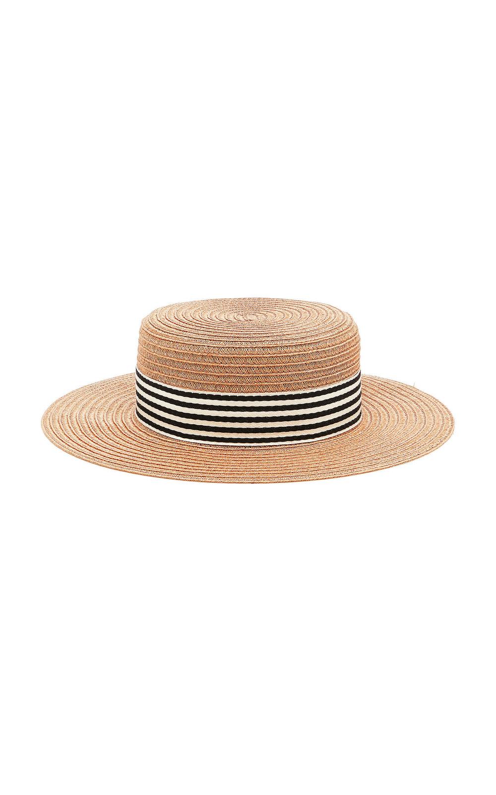 Eugenia Kim Brigitte Straw Hat in neutral