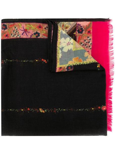 Etro mixed-print scarf