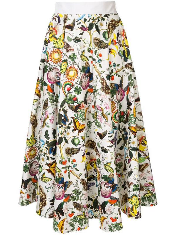 Mary Katrantzou Alice skirt in white