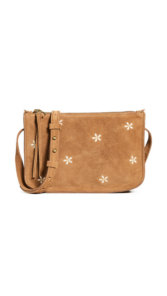 Madewell Simple Pouch Crossbody Bag in brown