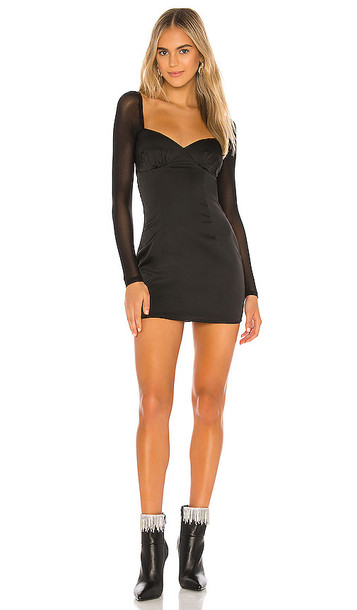 superdown Madison Mini Dress in Black