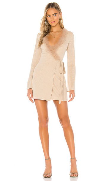 Lovers + Friends Lovers + Friends Florence Mini Dress in Cream