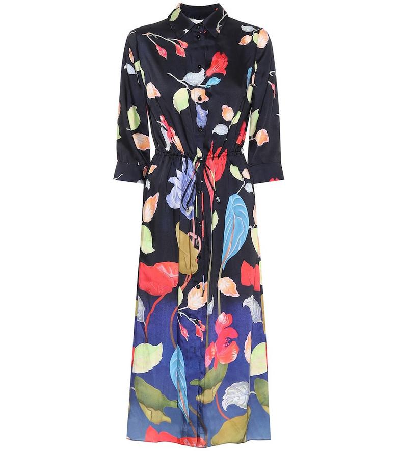 Peter Pilotto Floral twill shirt dress