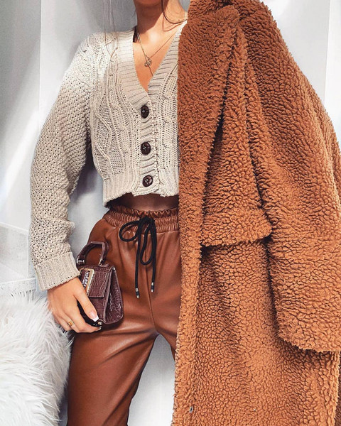 bag coat sweater