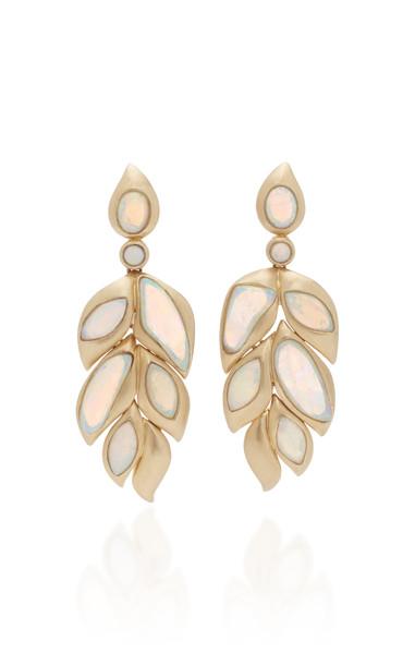 Goshwara 18K Gold and Opal Earrings