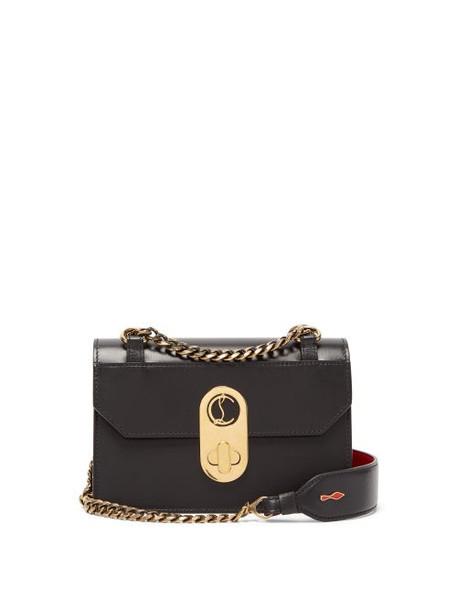 Christian Louboutin - Elisa Mini Leather Cross-body Bag - Womens - Black