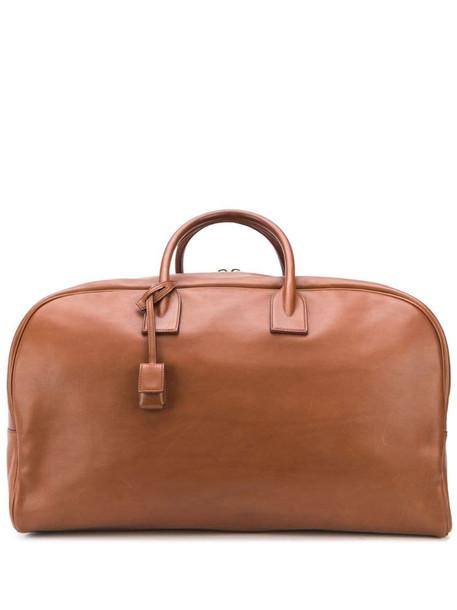 Saint Laurent bowling bag in brown