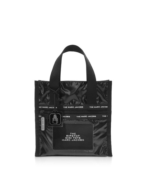 Marc Jacobs The Ripstop Black Nylon Mini Tote