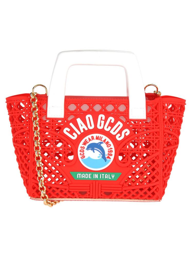 Gcds Gcds Mini Ciao Bag in red