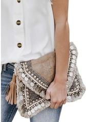 bag,tassel,clutch,purse