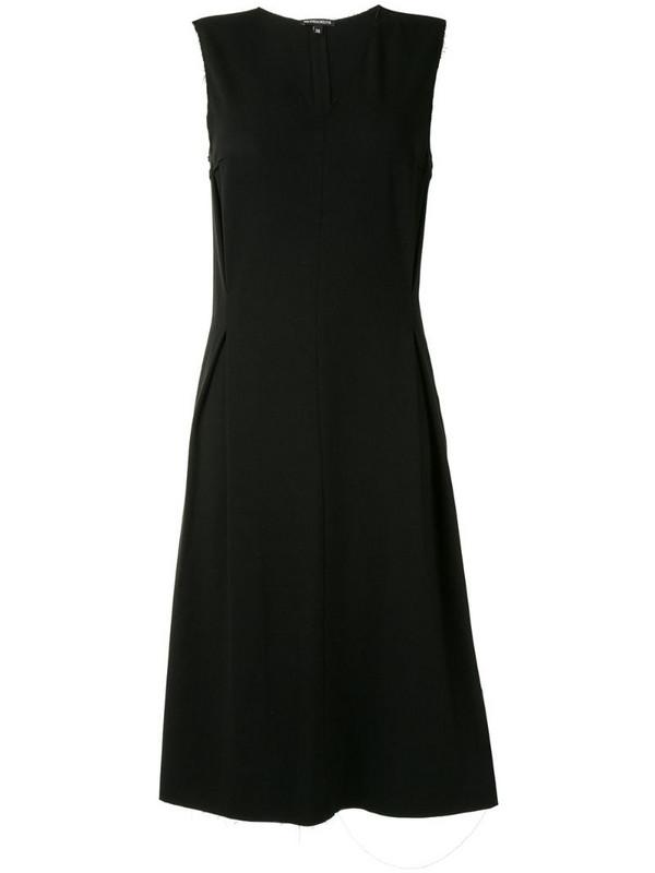 Ann Demeulemeester A-line dress in black