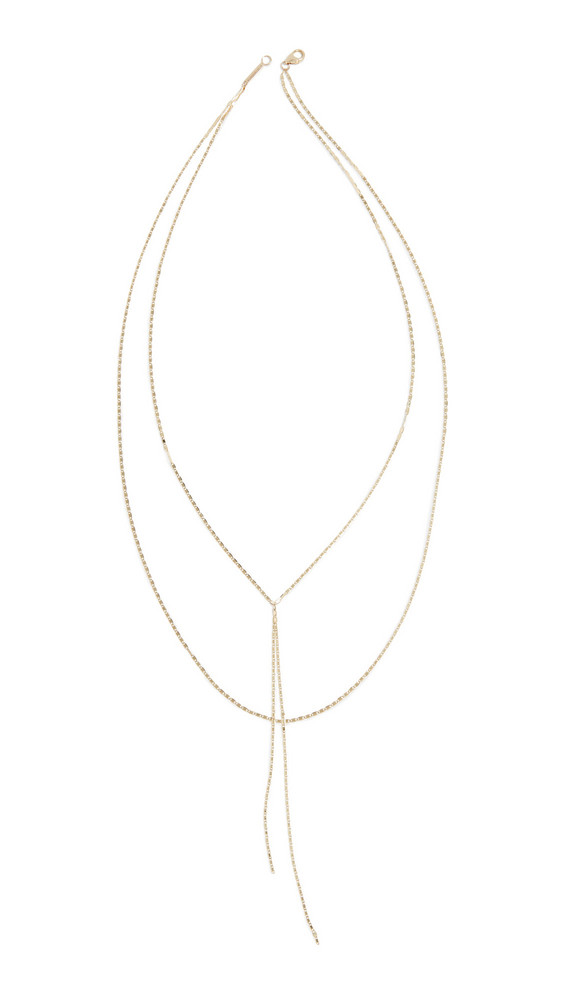 LANA JEWELRY 14k Nude Malibu Blake Necklace in gold