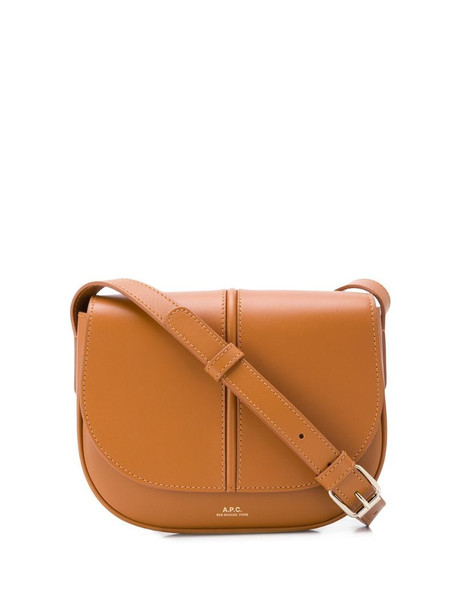 A.P.C. betty shoulder bag in brown