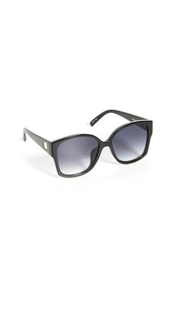 Le Specs Athena Alt Fit Sunglasses in black