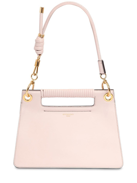GIVENCHY Small Whip Smooth Leather Bag in pink