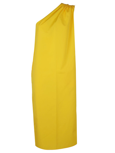 Max Mara Yellow Cotton Dress