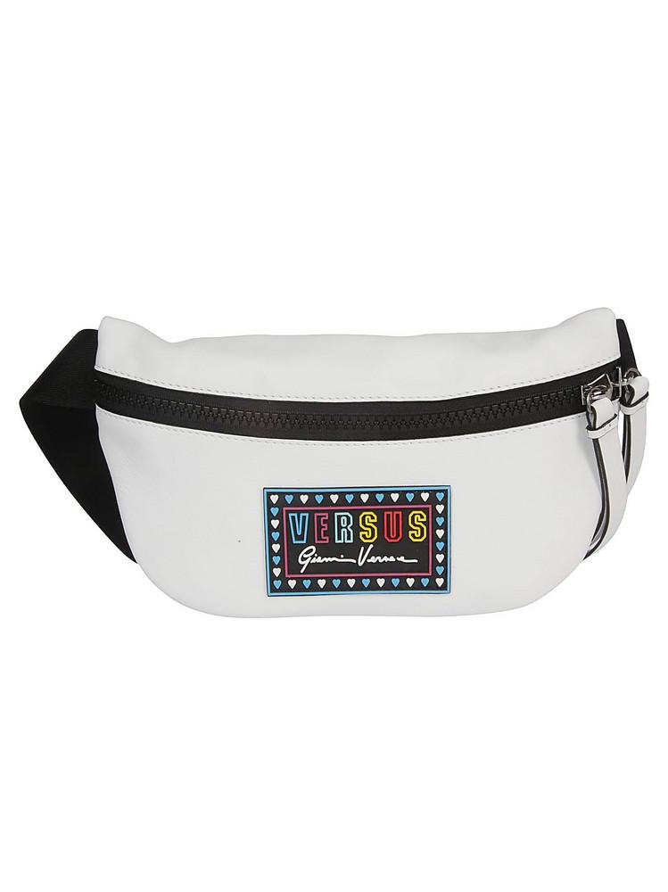 Versus Versace Logo Patch Belt Bag in white