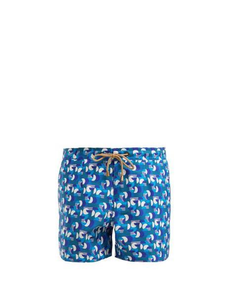 Thorsun - Athena Sol Swim Shorts - Womens - Blue Multi