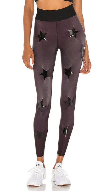 ultracor Knockout Ultra High Legging in Wine