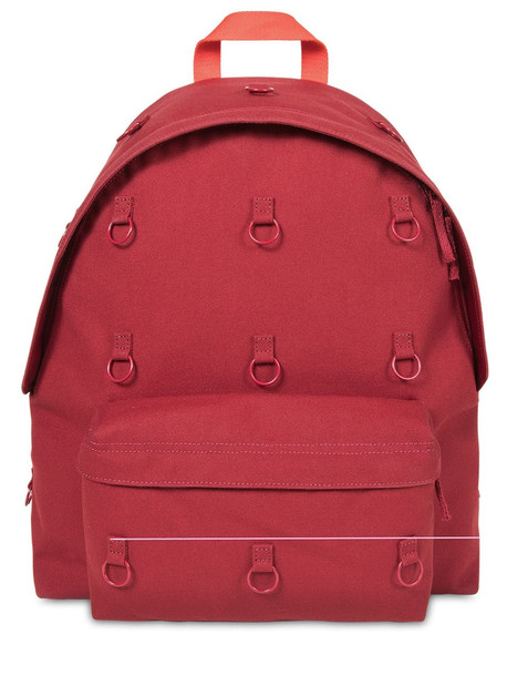 RAF SIMONS Rs Padded Loop Backpack in red
