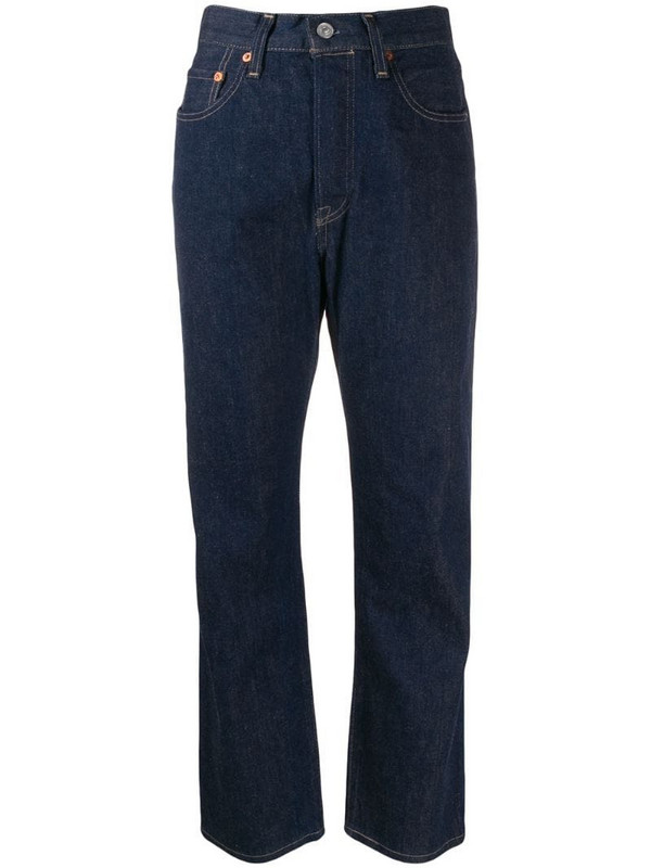 Levi's: Made & Crafted straight leg jeans in blue