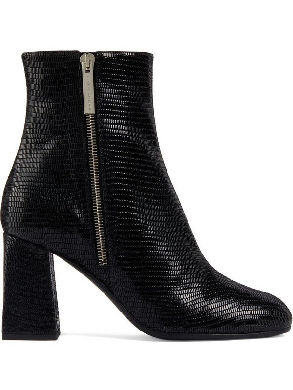 Giuseppe Zanotti Sveva 80mm lizard-effect boots in black