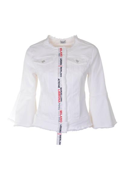 Liu-Jo Liu Jo Jacket in bianco