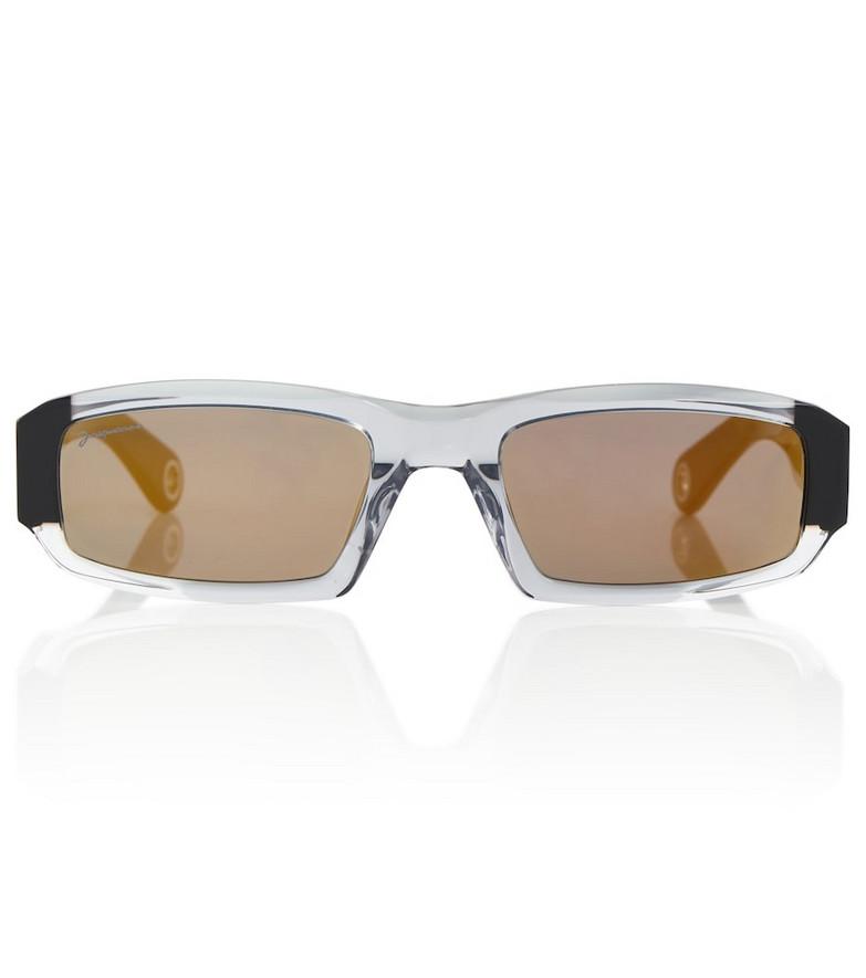 Jacquemus Les lunettes Altù sunglasses in black