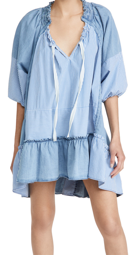 Free People Keegan Tunic in indigo