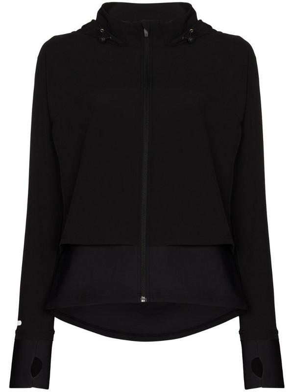 Sweaty Betty Fast Track zip-up running jacket in black
