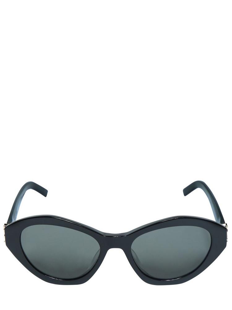 SAINT LAURENT Sl M60 Monogram Acetate Sunglasses in black