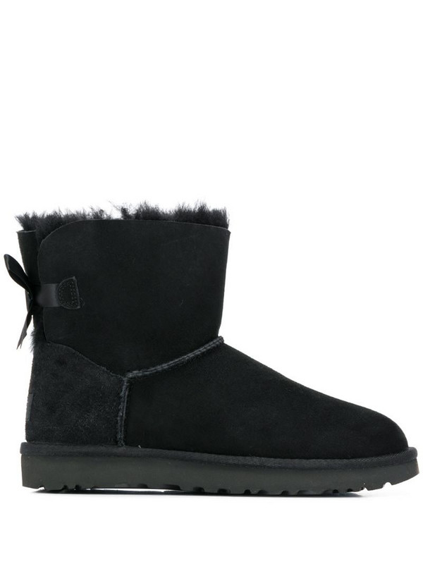 UGG Mini Bailey Bow boots in black