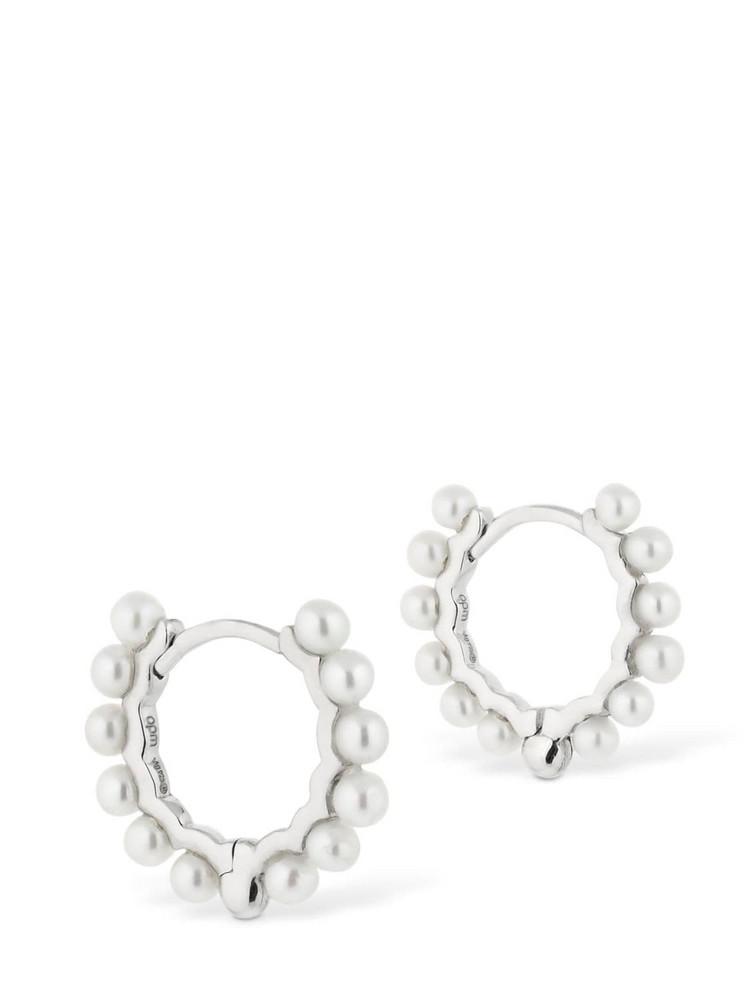 APM MONACO Silver Valentine Earrings