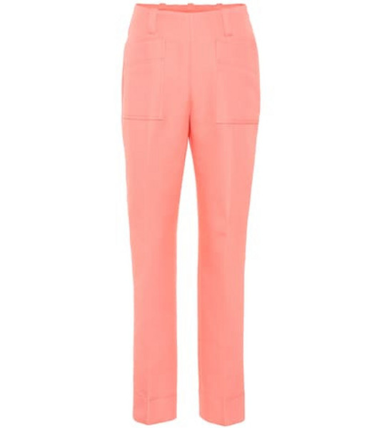 Tory Burch Cotton pants in pink
