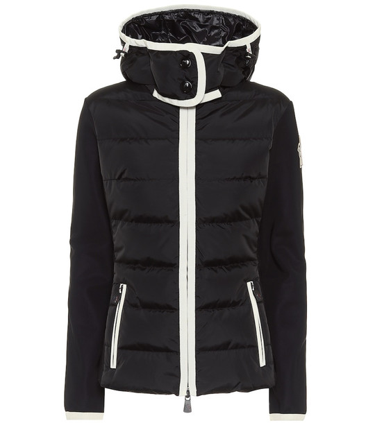 Moncler Grenoble Down ski jacket in black