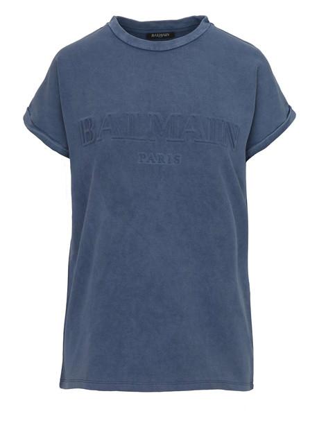 Balmain Paris T-shirt in blue